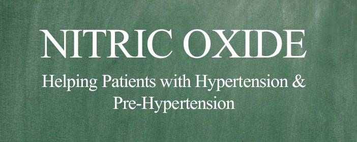 nitric oxide hypertension